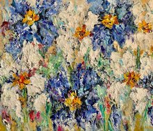White-Serene-120-x-100-Bloemen-schilderij