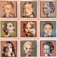 Flowerdesires-66-x-66-cm-Epoxy-schilderij-portretten