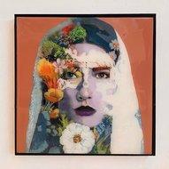 Powerful-Woman-22-x-22-cm-Epoxy-schilderij