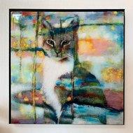 Kunst kat poes