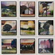 Mornings-at-the-countryside---66-x-66-cm-Epoxy-schilderij