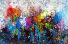 Kunstwerk kleurrijk