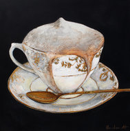 schilderij Cappuccino