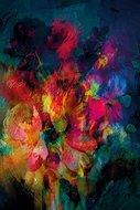 Cobra art Flowerbunch abstract