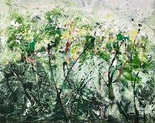 Groei-150-x-120-cm-Abstract-Schilderij