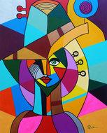 Creative-80-x-100-cm-Kleurrijk-schilderij