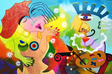 La-muse-du-peintre-120-x-80-cm