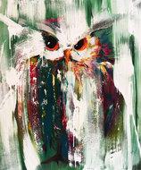 In-het-groen-100-x-120-cm-Dieren-schilderij