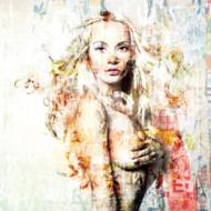 Sultry-Fotokunst-vrouw