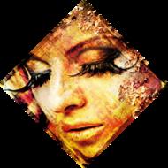 Eyelashes-Fotokunst-vrouw