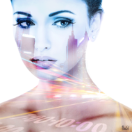 Portret-in-Pastelshade-ll-Fotokunst-vrouw