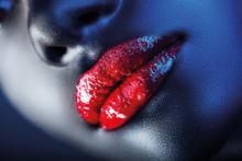 Red-Lips-Fotokunst--vrouw