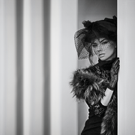 The-Voile-Fotokunst-vrouw