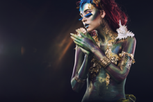 Exotic-Fotokunst-vrouw