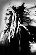 Native-American-Fotokunst-Indiaan