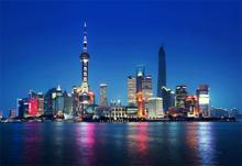 Fotokunst-skyline-Shanghai