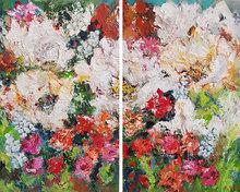 Grazia-150-x-120-cm-Groot-bloemen-schilderij