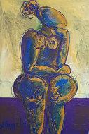 Harmonieus-100-x-150-Vrouwen-schilderij-groot