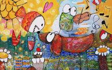 Looky-Looky-160-x-100-cm-Vrolijk-schilderij