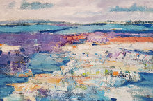 Waterland-150-x-100-cm-Abstract-landschap-schilderij
