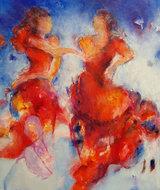 Flamenco-110-x-130-cm-Groot-schilderij