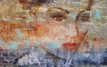 Brown-eyed-160-x-100-cm-Groot-schilderij-vrouw