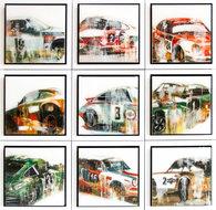 Serie-Porsches-63-x-63-cm-Epoxy-schilderij