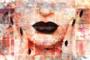 Face in Pastel Rose - Fotokunst vrouw_8