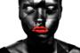 Black Woman - Fotokunst vrouw_8