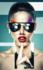The Sunglasses - Fotokunst vrouw_8
