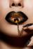 Golden Lips - Fotokunst vrouw_8
