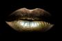 Golden touch | Fotokunst gouden lippen_8
