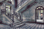 The Staircase - Fotokunst  gebouwen_8