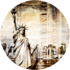 New York Liberty | Fotokunst rond_8